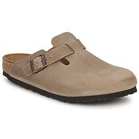 Sapatos Tamancos Birkenstock BOSTON PREMIUM Castanho