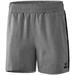 Textil Mulher Shorts / Bermudas Erima Short femme  Premium One 2.0 gris chiné/noir