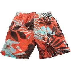 Textil Homem Shorts / Bermudas Zagano Spodenki kąpielowe  2216-208 red