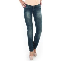 Textil Mulher Gangas Skinny Wrangler Spodnie  Molly 251XB23C blue