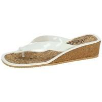 Sapatos Mulher Chinelos Nellakis  Branco