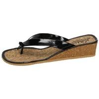 Sapatos Mulher Chinelos Nellakis  Preto