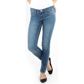 Textil Mulher Gangas Skinny Lee Spodnie Damskie  357SVIX Lynn  Skinny blue