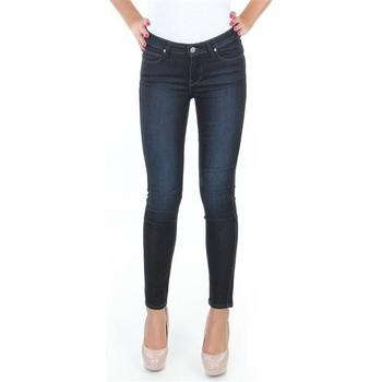 Textil Mulher Gangas Skinny Lee Spodnie  Scarlett L526SWWO blue