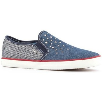 Sapatos Mulher Slip on Geox Wmns  J Kiwi G.D  J62D5D-0ZDAS-C4001 blue