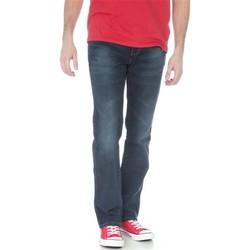 Textil Homem Calças Jeans Wrangler Arizona Stretch W12O8343C granatowy