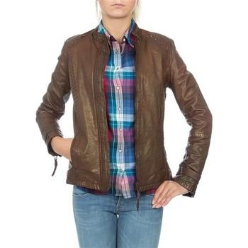 Textil Mulher Casacos/Blazers Wrangler skórzana  WR4030ZC81 brown