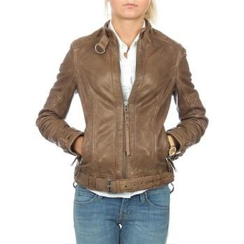 Textil Mulher Casacos/Blazers Wrangler skórzana  Montana WR4044ZCBR brown
