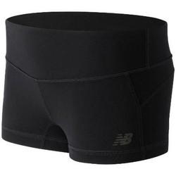 Textil Mulher Shorts / Bermudas New Balance WS53106BK black