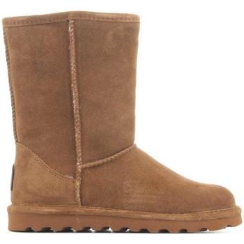 Sapatos Mulher Botas de neve Bearpaw Elle Short 1962W Hickory II brown