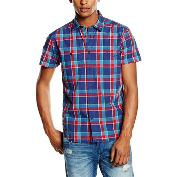 Textil Homem Camisas mangas curtas Wrangler ® S/S Two Pocket Shirt 5882C2RC Multicolor
