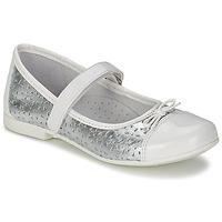 Sapatos Rapariga Sabrinas Citrouille et Compagnie JILENA Prateado / Branco