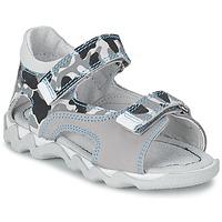 Sapatos Rapaz Sandálias Citrouille et Compagnie MISQUINE Branco / Militar