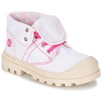 Sapatos Rapariga Botas baixas Citrouille et Compagnie BASTINI Branco