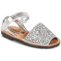 Sapatos Rapariga Sandálias Citrouille et Compagnie SQUOUBEL Prata