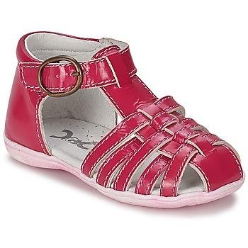 Sapatos Rapariga Sandálias Citrouille et Compagnie TRAMELLE Fúchsia