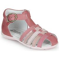 Sapatos Rapariga Sandálias Citrouille et Compagnie VISOTU Rosa / Multicolor