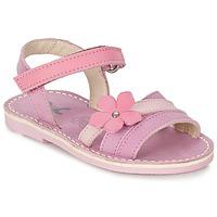 Sapatos Rapariga Sandálias Citrouille et Compagnie VIZIEL Violeta / Rosa