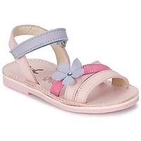 Sapatos Rapariga Sandálias Citrouille et Compagnie ERTUNA Multicolor