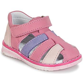 Sapatos Rapariga Sandálias Citrouille et Compagnie CHIZETTE Lilás / Rosa / Fúchsia