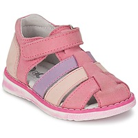 Sapatos Rapariga Sandálias Citrouille et Compagnie FRINOUI Lilás / Rosa / Rosa fúchia