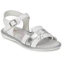 Sapatos Rapariga Sandálias Citrouille et Compagnie KATAGUE Branco