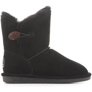 Sapatos Mulher Botas de neve Bearpaw Rosie 1653W Black II