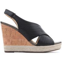 Sapatos Mulher Sandálias Geox D Janira C D82P6C 06RBC C9999 black