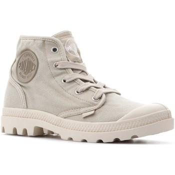 Sapatos Mulher Sapatilhas de cano-alto Palladium Manufacture Pampa Hi 92352-238-M beige