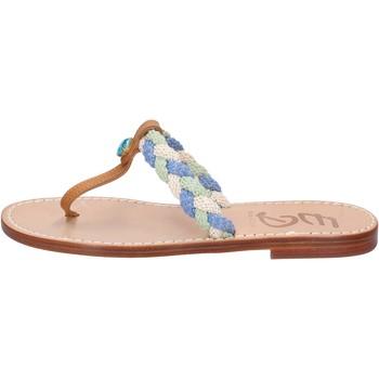 Sapatos Mulher Sandálias Eddy Daniele sandali multicolor pelle aw522 Multicolore