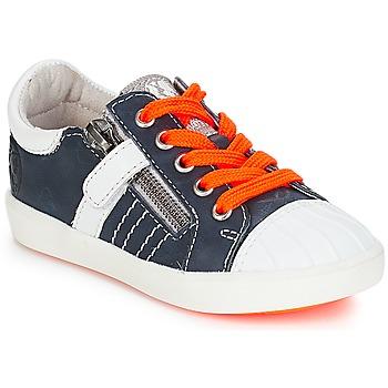 Sapatos Rapaz Sapatilhas GBB MAXANCE Marinho-branco
