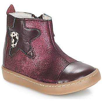 Sapatos Rapariga Botas baixas GBB LIAT Bordô