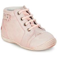 Sapatos Rapariga Botas baixas GBB PRIMROSE Rosa / Pele