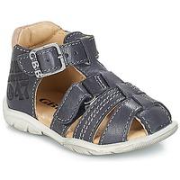 Sapatos Rapaz Sandálias GBB PRIGENT Marinho