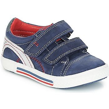 Sapatos Rapaz Sapatilhas Catimini PERRUCHE Marinho-vermelho / Strike