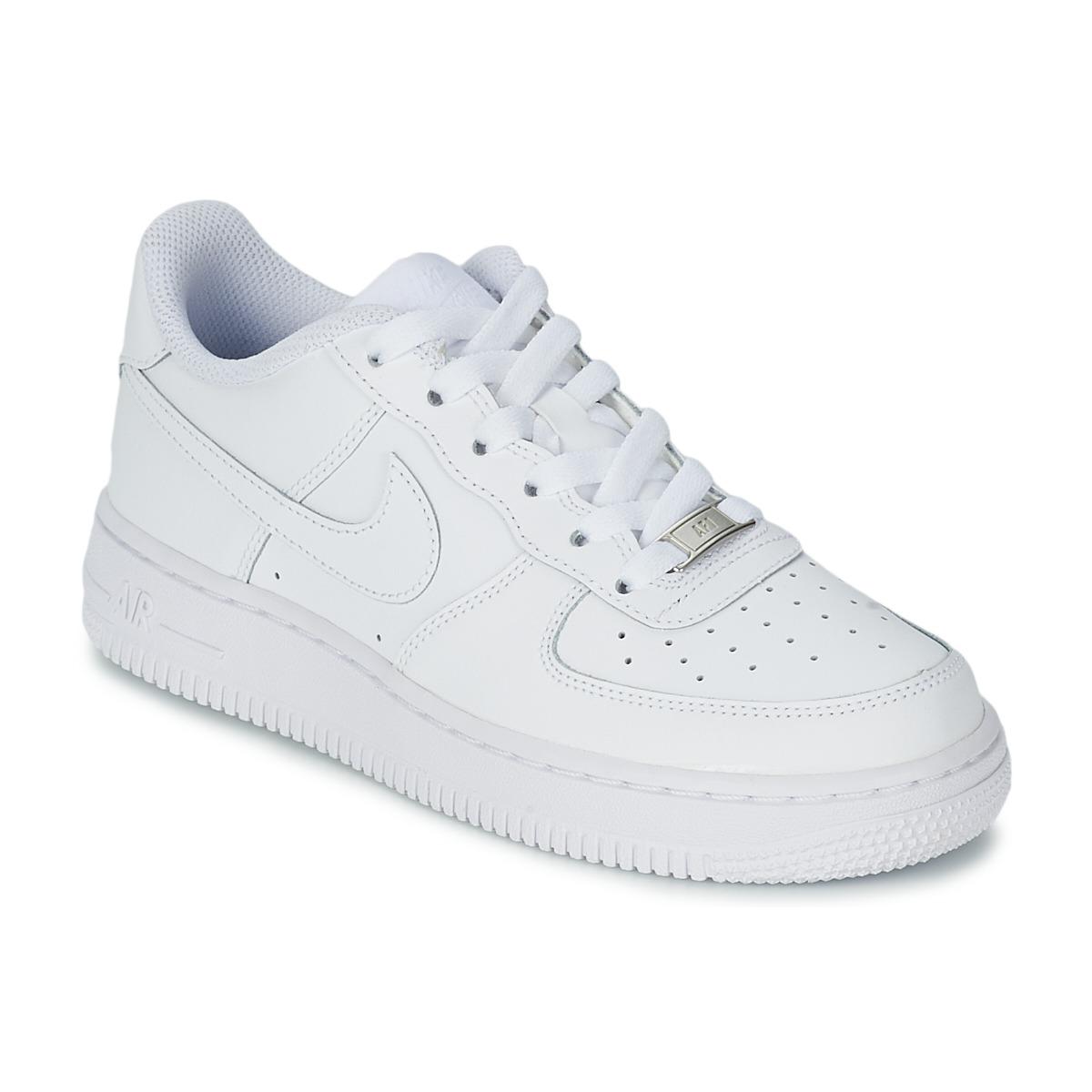 Sapatos Criança Sapatilhas Nike AIR FORCE 1 Branco 930e4327ded34