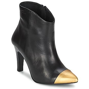Sapatos Mulher Botins Pastelle ARIEL Preto-dourado