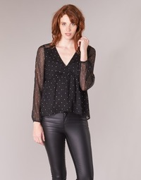 Textil Mulher Tops / Blusas Betty London JENASQUE Preto