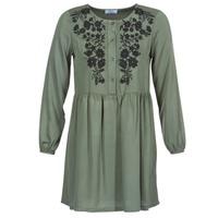 Textil Mulher Vestidos curtos Betty London JARAZA Cáqui