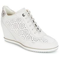 Sapatos Mulher Sapatilhas de cano-alto Geox D ILLUSION Branco