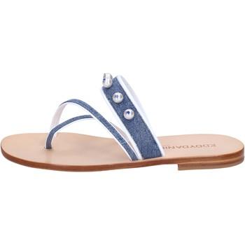 Sapatos Mulher Sandálias Eddy Daniele Sandálias AW229 Azul