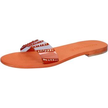 Sapatos Mulher Sandálias Eddy Daniele Sandálias AW449 laranja