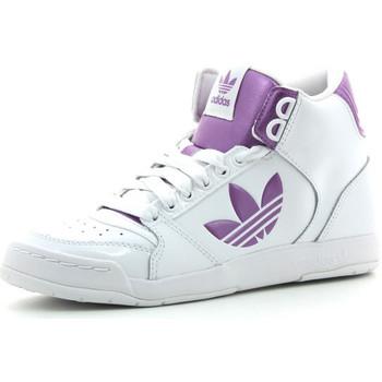 Sapatos Mulher Sapatilhas de cano-alto adidas Originals Midiru Court 2.0 TR Branco / Rosa