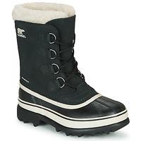 Sapatos Mulher Botas de neve Sorel CARIBOU Preto