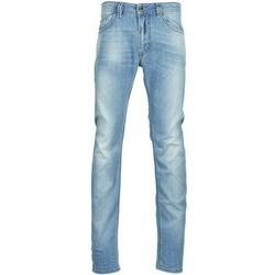 Textil Homem Calças de ganga slim Diesel THAVAR Azul / Claro