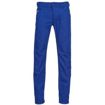 Textil Homem Calças de ganga slim Diesel BELTHER Azul