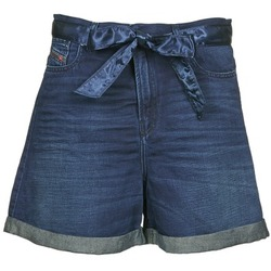 Textil Mulher Shorts / Bermudas Diesel DE-KAWAII Azul / Escuro
