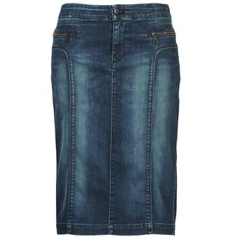 Textil Mulher Saias Diesel DE-TRENKER Azul