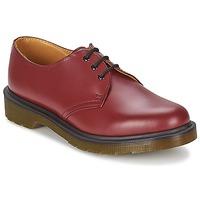 Sapatos Homem Sapatos Dr Martens 1461 PW Vermelho / Cereja