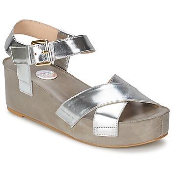 Sapatos Mulher Sandálias RAS NIOBE Prateado